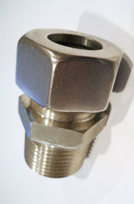 Inconel  Connector Tube Fittings