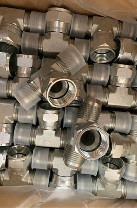 Inconel  Tee Tube Fittings